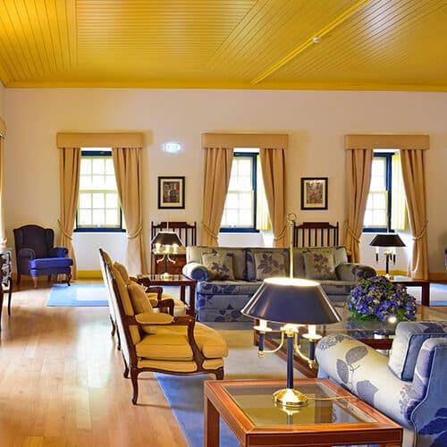 Villa Termal – D.Carlos Regis - Sala de Estar