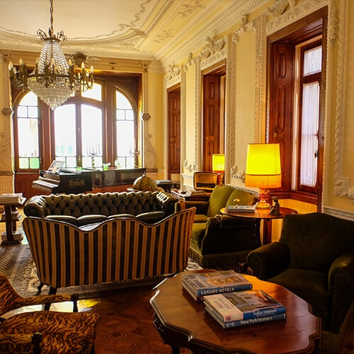 Palacete Chafariz D'el Rei - Sala de Estar Comum