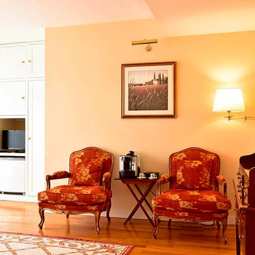 Villa Termal – D.Carlos Regis - Sala de Estar Suite Charming