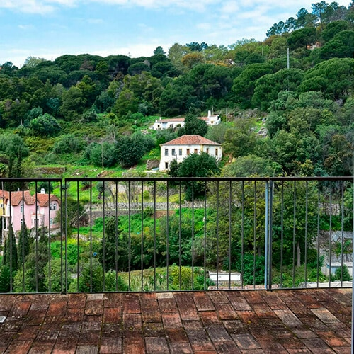 Villa Termal – D.Carlos Regis - Vista Varanda