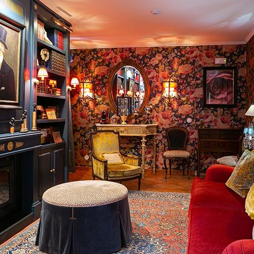 Rosegarden House - Sala de Estar